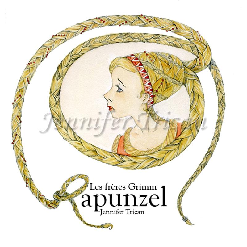 Le conte Rapunzel des freres Grimm